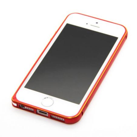 Ultra-thin 0.7mm rounded Aluminum Bumper gold iPhone 5/5S/SE  Bumpers iPhone 5 - 21