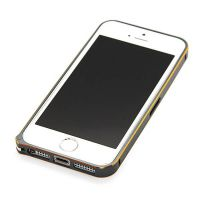 Ultra-thin 0.7mm rounded Aluminum Bumper gold iPhone 5/5S/SE  Bumpers iPhone 5 - 23