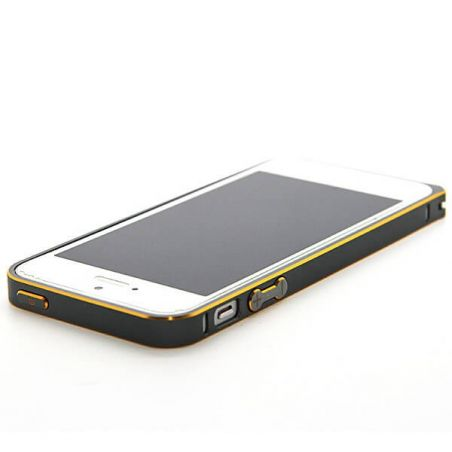 Ultra-thin 0.7mm rounded Aluminum Bumper gold iPhone 5/5S/SE  Bumpers iPhone 5 - 24