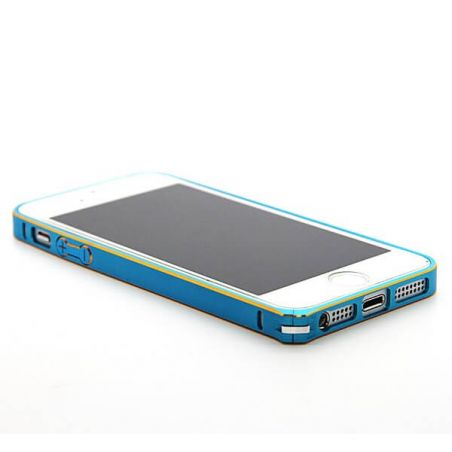 Ultra-thin 0.7mm rounded Aluminum Bumper gold iPhone 5/5S/SE  Bumpers iPhone 5 - 26