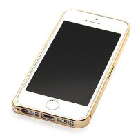 Ultra-thin 0.7mm rounded Aluminum Bumper gold iPhone 5/5S/SE  Bumpers iPhone 5 - 27