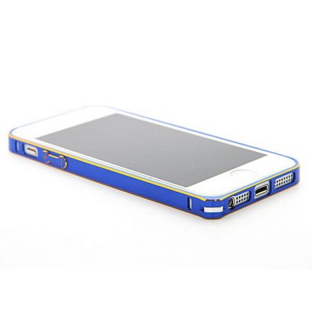 Ultra-thin 0.7mm gold frame Aluminum Metal Blade Bumper iPhone 5/5S/SE  Bumpers iPhone 5 - 7