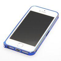 Feinste Stoßstange aus Aluminium 0,7 mm Goldkontur iPhone 5/5S/SE  Bumpers iPhone 5 - 8