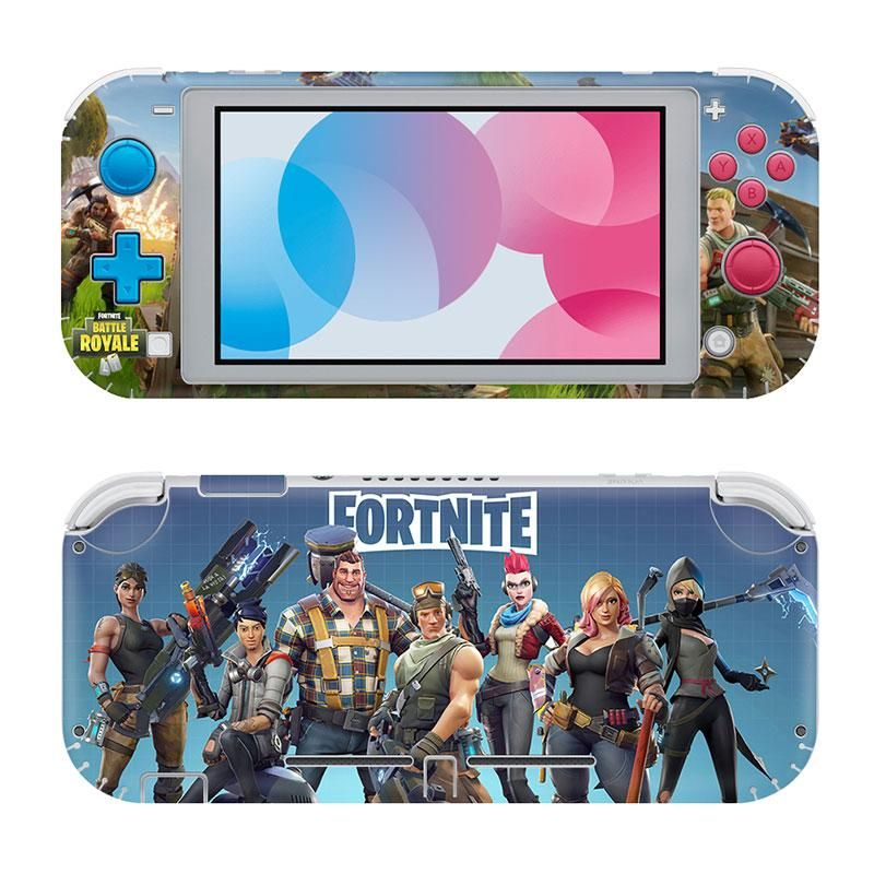 Skin for Nintendo Switch Lite Fortnite Battle Royale (stickers) - MacManiack England