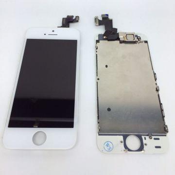 Komplettes Bildschirmkit montiert WHITE iPhone 5S (Originalqualität) + Werkzeuge  Bildschirme - LCD iPhone 5S - 4