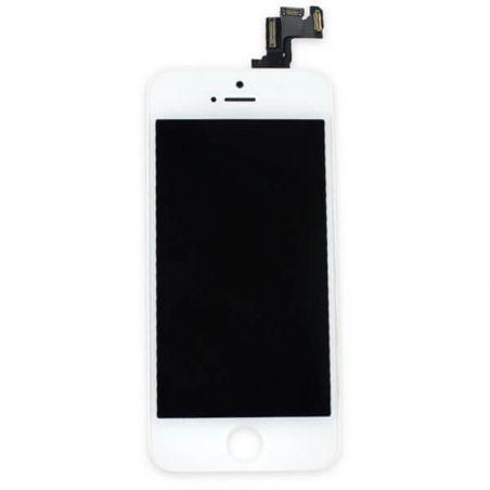 Achat Kit Ecran complet assemblé BLANC iPhone 5S (Qualité Original) + outils KR-IPH5S-018