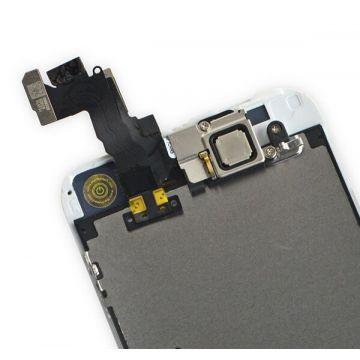 Komplettes Bildschirmkit montiert WHITE iPhone 5S (Originalqualität) + Werkzeuge  Bildschirme - LCD iPhone 5S - 2