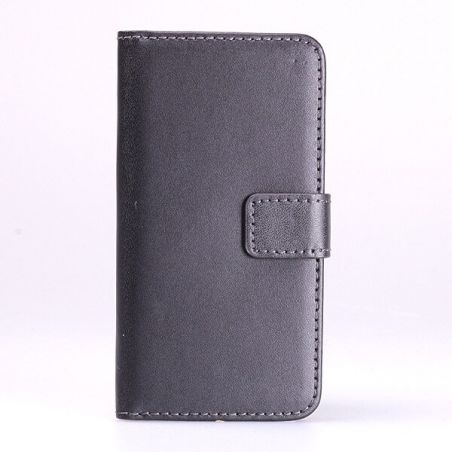 Leather imitation Portfolio Stand Case iPod Touch 5  Covers et Cases iPod Touch 5 - 1