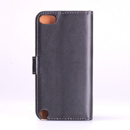 Leather imitation Portfolio Stand Case iPod Touch 5  Covers et Cases iPod Touch 5 - 2
