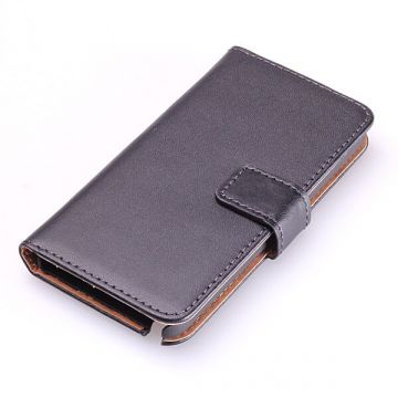 Leather imitation Portfolio Stand Case iPod Touch 5  Covers et Cases iPod Touch 5 - 3