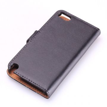 Leather imitation Portfolio Stand Case iPod Touch 5  Covers et Cases iPod Touch 5 - 4