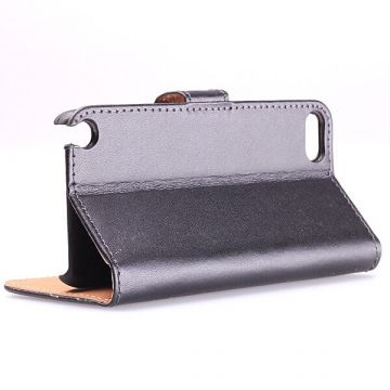 Leather imitation Portfolio Stand Case iPod Touch 5  Covers et Cases iPod Touch 5 - 6