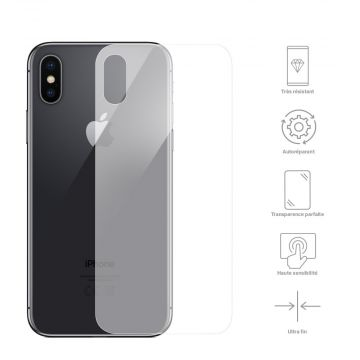 Achat Protection Face arrière iPhone XS Film hydrogel HYDROFA-IPXS