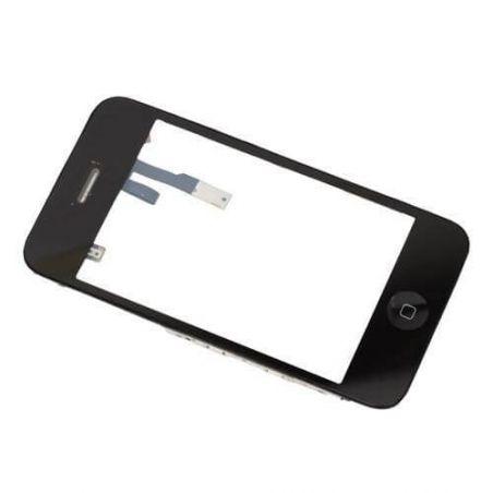 iPhone 3 touchscreen en frame zwart – iPhone reparatie  Vertoningen - LCD iPhone 3G - 1