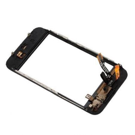 Touch Screen digitizer and complete frame for iPhone 3G Black  Screens - LCD iPhone 3G - 2