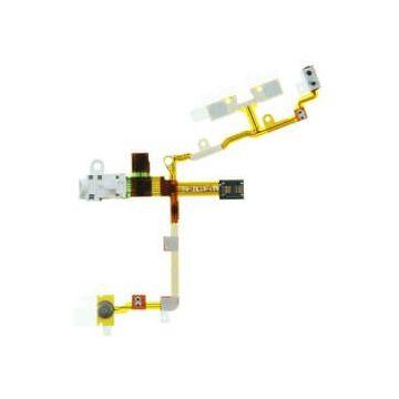Achat Nappe prise Jack, power, volume et vibreur pour iPhone 3G et 3Gs blanc IPH3X-015X