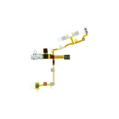 iPhone 3 jack audio module, aan en uit knop & volume / mute knoppen wit - iphone 3 reparatie  Onderdelen iPhone 3G - 1