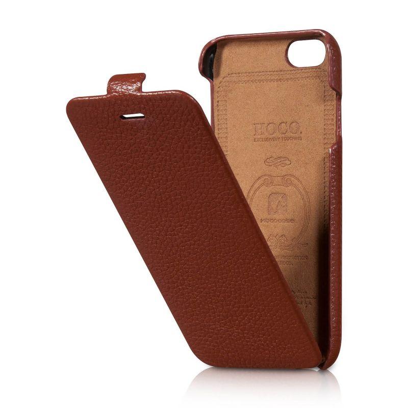 Housse à clapet iPhone 6 (en cuir)