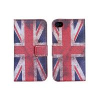 Flip Over Cover Case UK Flag Vintage Look iPhone 4 4S  Covers et Cases iPhone 4 - 1
