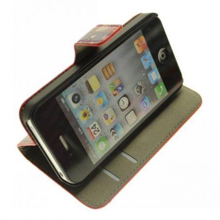 Achat Etui Housse à clapet UK Vintage iPhone 4 4S COQ4X-101X