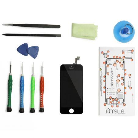 Black Screen Kit iPhone 5S (Premium Qualität) + Werkzeuge