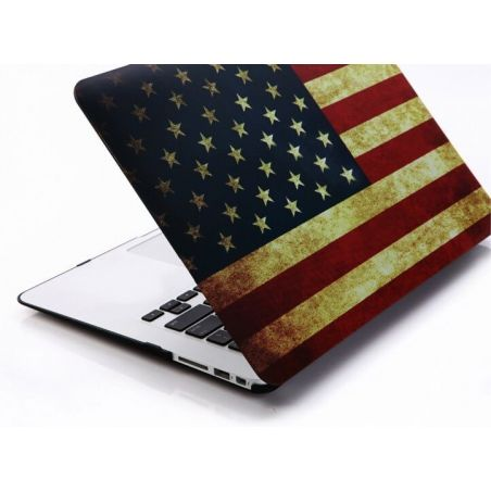"American vintage MacBook Pro 13"" flag shell  Covers et Cases MacBook - 2"