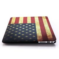 "American vintage MacBook Pro 13"" flag shell  Covers et Cases MacBook - 3"