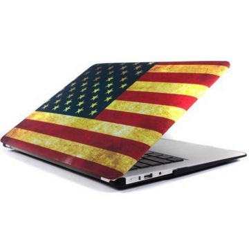 "American vintage MacBook Pro 13"" flag shell  Covers et Cases MacBook - 1"