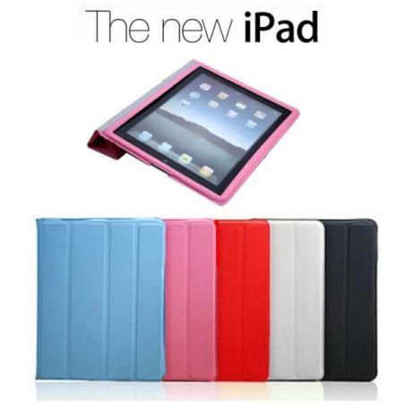 Smart Cover Tasche Neues iPad (iPad 3) Schwarz