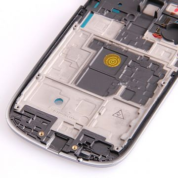 Original Grey border frame Samsung Galaxy S3 Mini   Screens - Spare parts Galaxy S3 Mini - 379
