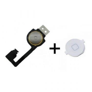 Home-knop module in Home Knop Zwart iPhone 4 4S