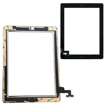 Touch Screen Glass/Digitizer Assembled For iPad 2 Black  Screens - LCD iPad 2 - 1