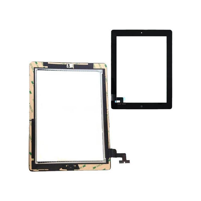 Achat Vitre tactile assemblée iPad 2 Noir PAD02-003