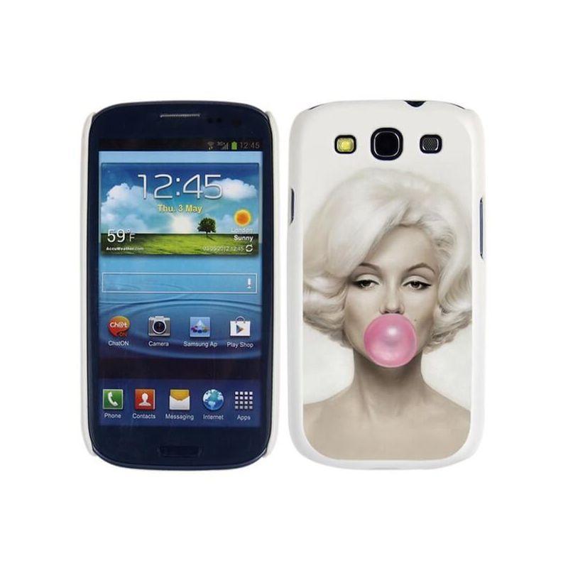 Achat Coque rigide Marilyn Monroe Samsung Galaxy S3 - Housses et ...
