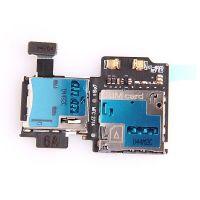 Samsung Galaxy S4 SIM-kaartlezer en micro SD-kaartlezer voor de Samsung Galaxy S4  Vertoningen - Onderdelen Galaxy S4 - 1