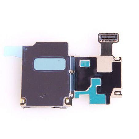 Samsung Galaxy S4 SIM-kaartlezer en micro SD-kaartlezer voor de Samsung Galaxy S4  Vertoningen - Onderdelen Galaxy S4 - 2