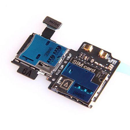 Samsung Galaxy S4 SIM-kaartlezer en micro SD-kaartlezer voor de Samsung Galaxy S4  Vertoningen - Onderdelen Galaxy S4 - 3