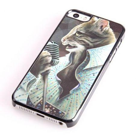 Elvis Presley iPhone 5C Cat Case  Covers et Cases iPhone 5C - 1