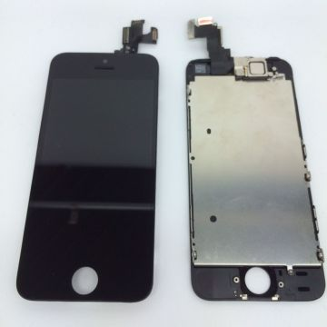 Complete screen kit assembled BLACK iPhone 5S (Premium Quality) + tools  Screens - LCD iPhone 5S - 4