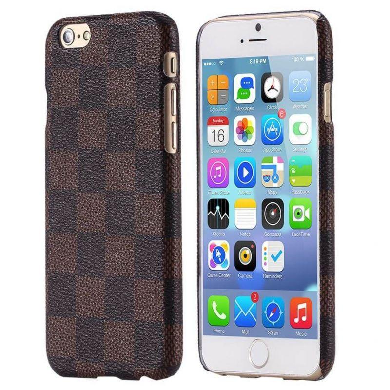 iPhone 6 Plus geruit harde hoesje met ruitjes  Dekkingen et Scheepsrompen iPhone 6 Plus - 4