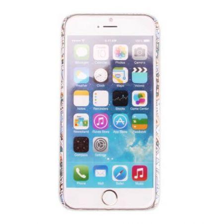 Arabesk textiel patroon hard case iPhone 6 hoesje   Dekkingen et Scheepsrompen iPhone 6 - 9