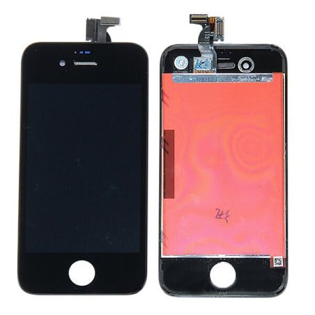Original Glass Digitizer, LCD Screen and Full Frame for iPhone 4S Black  Screens - LCD iPhone 4S - 1