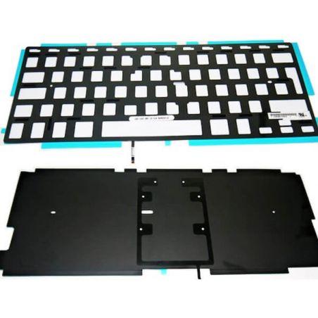 """Achat Nappe de rétro éclairage pour clavier Azerty Apple macbook pro 13"""" & 13"""" unibody MB013-111"""
