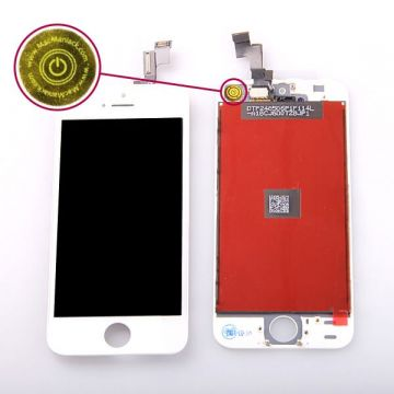 iPhone 5S WHITE Screen Kit (Premium Quality) + tools  Screens - LCD iPhone 5S - 1