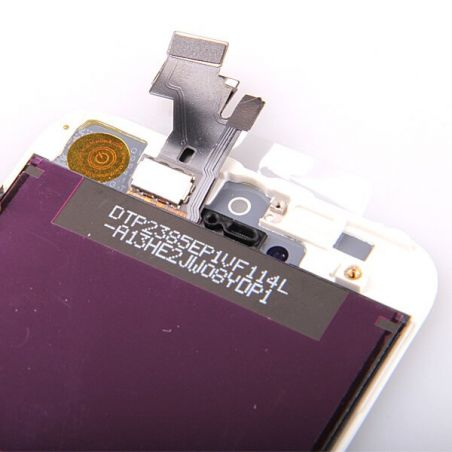 Original Glass digitizer, LCD Retina Screen and Full Frame for iPhone 5 White  Screens - LCD iPhone 5 - 3
