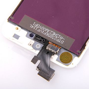 Original Glass digitizer, LCD Retina Screen and Full Frame for iPhone 5 White  Screens - LCD iPhone 5 - 4
