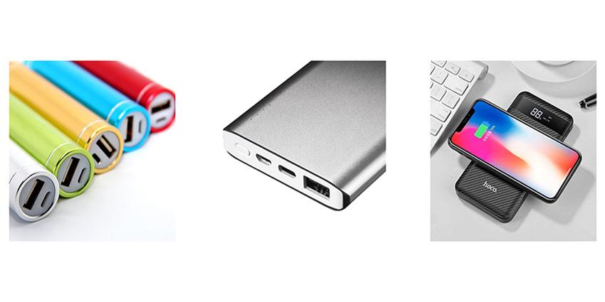 Choisir son power bank / batterie externe