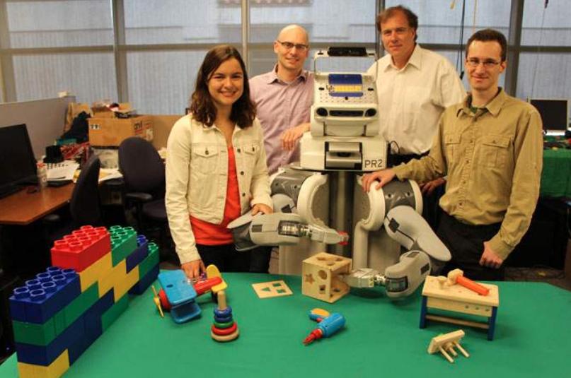 Des robots apprennent comme les humains, en faisant des erreurs