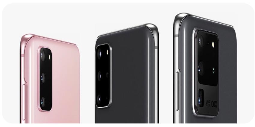 Galaxy S20, smartphone taillé pour la photo