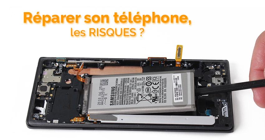 Réparation téléphone, quels sont les risques ?